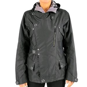 Burton Dry Ride Winter Coat Size Medium Black